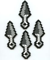 Kunai Knives by Frost-Claw-Studios