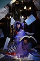 Touhou Project Patchouli Knowl by akeboshi-chaos