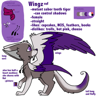 Wingz Ref  *Sona* by Cupcake-Wingz