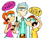 Rick and Morty by Caramelkeks