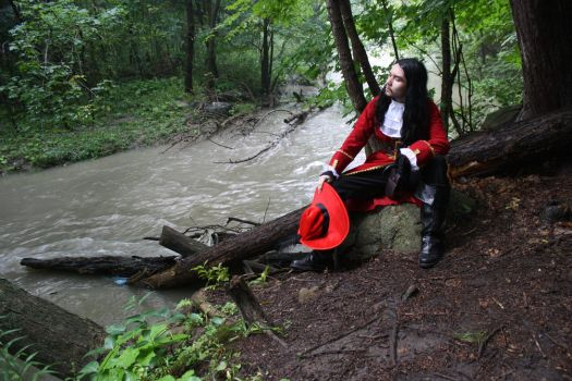 Capt. James Hook: Where the River Flows by ZoraCatone