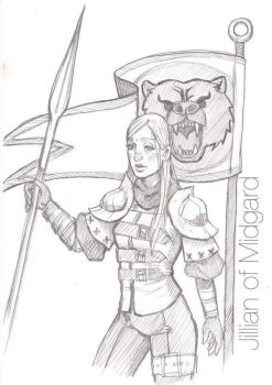 Signe Larsson-Havel, Lady of the Bear Killers by Jillian-of-Midgard
