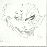 Hollow Ichigo by Andrew-Stealfh