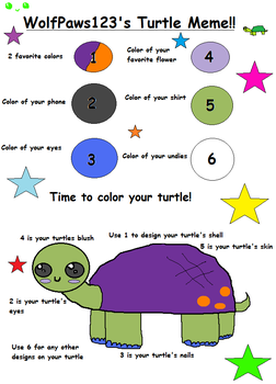 Completed Meme of Turtleness by Birdykinz