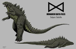 Monarch Data Files: Godzilla by KaijuDuke