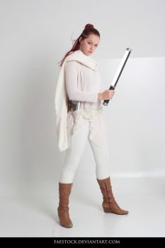 Jedi  - Stock Pose Reference 20 by faestock