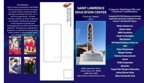 St Lawrence Business Pamphlet Outside by jcastick