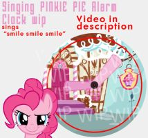 PINKIE PIE ALARM CLOCK PLAYS SMILE SMILE SMILE by SN3AKYfox