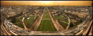 Paris Panorama by french-fries