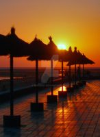 Sunset in Cadiz Spain by drewii57
