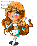 Contest Prize 2/2 - Chibi Caleigh by Eleanor-Devil