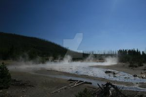 Yellowstone Park Thermal Area by ryanhacking