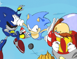 sonic cd contest entry by Smashpersona