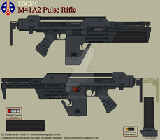 USCMC M41A2 Pulse Rifle by Wolff60
