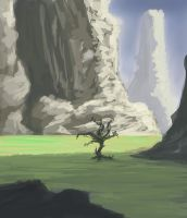 The lonely tree by Djoze32
