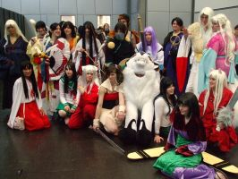 InuYasha Cosplay Group by NazayeMikomi