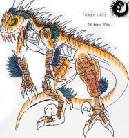 The R. Legacy: The Carnosaur by Kaptain-Kefiah