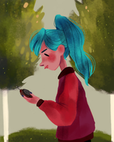 oxenfree by snownymphs