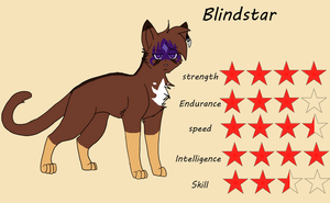 [ TDC ANIMATION ] Reference sheet Blindstar by SpiderRen