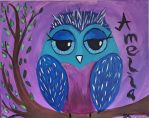 Amelia's Owl by ConsultingTimeLord96