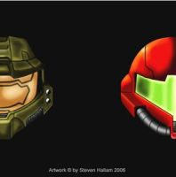 Halo VS Metroid - by Damatee by Spartan-II-Project