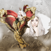 Lady Gaga PNG PACK by flawlessjlaw