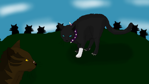 Scourge VS Tigerstar by xX-NIGHTBANEWOLF-Xx