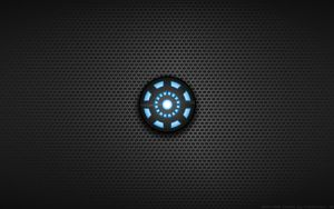 Wallpaper - Tony Stark 'Arc Reactor' Shirt Logo by Kalangozilla