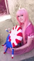 Princess bubblegum cosplay by Sparkly-Monster