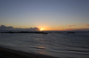 Sunset at Salt Pond Beach State Park, Kaua'i by Forest-Imp