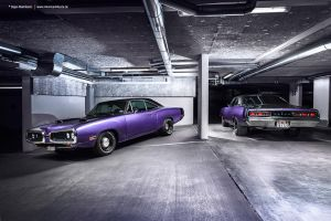 Plum Crazy 1970 Dodge Coronet - Shot 9 by AmericanMuscle