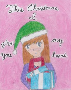 This Christmas I Give You My Heart by Squeaky-Maka15