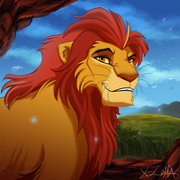 Adult Kion by X-Zelfa
