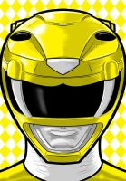 Yellow ranger by Thuddleston