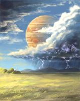 Jupiter Thunderstorm by Musical-Wolf