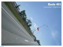 Route 401 by I-Am-Canadian-Eh