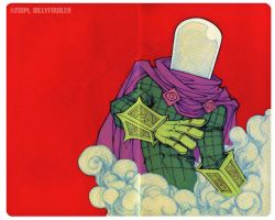 Mysterio color by Sweatybuffalo