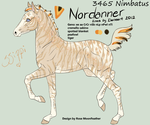 3464 Nimbatus foal design by Carousel-Stables
