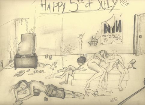 5th o July by GarageEscape