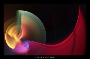 Saturn Sunrise by Halcyon83