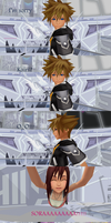 [MMD] How Sora and Kairi should meet... by kazuki9484