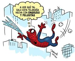 Spiderman Nov2011 by Juanele
