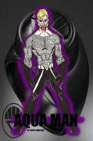 BLACK LANTERN AQUA MAN by RWhitney75