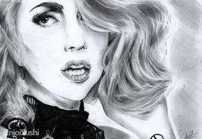 Lady Gaga by ienjoisushi