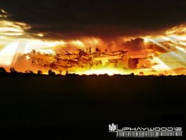 Abstract Sunset by jphaywood12