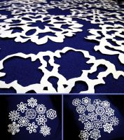 Snowflakes for Sandy Hook by nebester