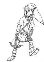 Link's Crossbow Training by DensetsuShinobi