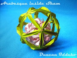 Sham with Arabesque inside by xduncanidahox