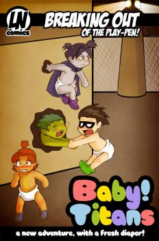 Baby!Titans by LibraryNinja