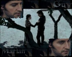 RH: Guy and Marian Wallpaper by d-fly